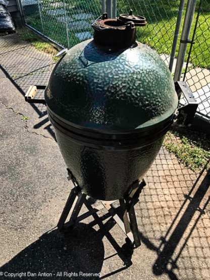 Big Green Egg - got some use this weekend.