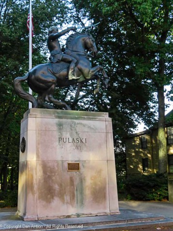 """""""I came here, where freedom is being defended, to serve it, and to live or die for it…"""" ---General Casimir Pulaski"""