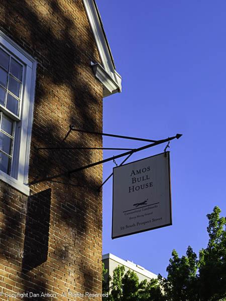 The Amos Bull House.
