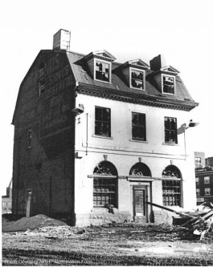 The first building in Connecticut added to the National Registry - endangered in 1968 but in much better shape today.