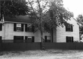 NRHP-Photo - Looking west from the garden in 1971