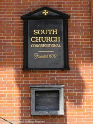 """My usual note: """"Founded"""" refers to the congregation, not the building."""