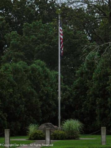 Soggy flag.
