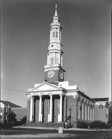 Main Street east facade; view west - 1976