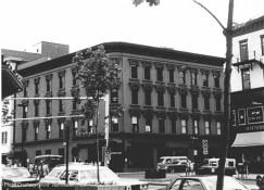 Charter Oak Bank building in 1977 - looking northeast.