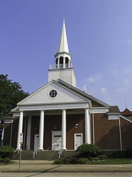 It's a beautiful church.