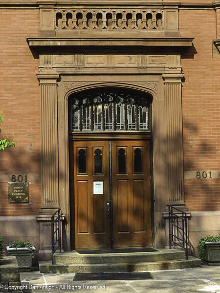 Front door to the Center For Church Based Human Services