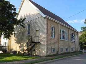 St. Paul AME Zion Church. I wasn't certain this was a church when I approached from this angle.