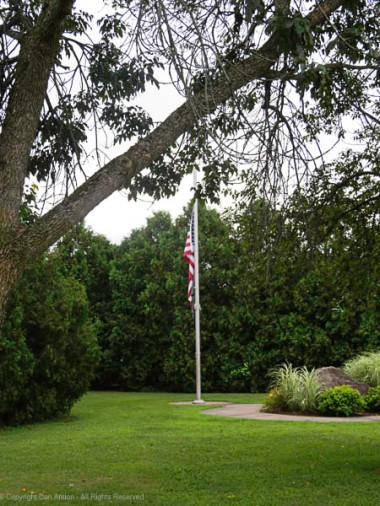 Our flags are still at half staff in honor of the firefighter who lost his life in the line of duty last weekend.