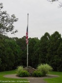 Half staff for the Marines lost in Afghanistan