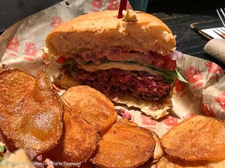 Burgatory classic burger.