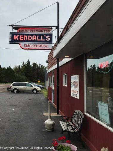 Kendall's Smokehouse - along the north shore of Lake Superior