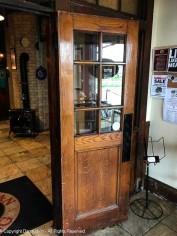 I love old wooden doors.