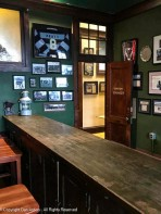 This isn't the bar, it's a long table in one of the back rooms.