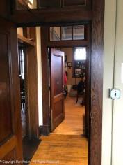 Lots of doors and hallways.