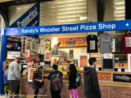 Wooster Street in New Have is home to some of the best pizza in the US - that's not my opinion, that the result of research.