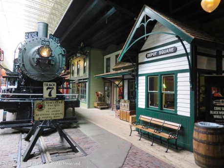 A teaser from the train museum. There are several restored/recreated buildings in the museum