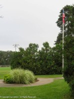 We have a new flag. The pole was bare for three days - that was sad.