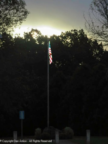 A little help from Lightroom and the flag is a little brighter