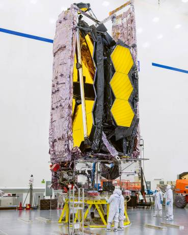 James Webb Space Telescope packed and ready for shipment to the launch site